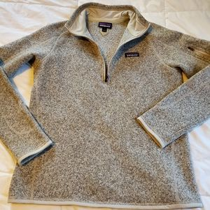Patagonia 1/4 Zip Fleece Better Sweater